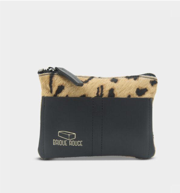 Porte carte guepard