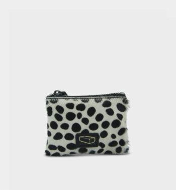 Mini zipped purse