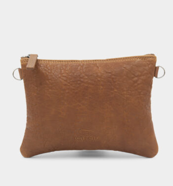 Pochette bubble camel